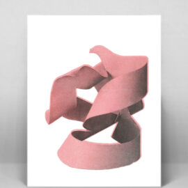 The Kiss, Risograph print
