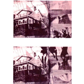 Elliot Rajnovic A House In 15 Parts , Risograph Print