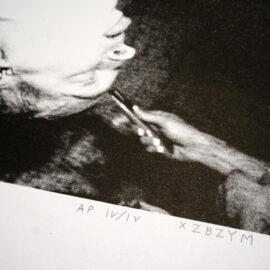Zbigniew Inversion, Risograph print