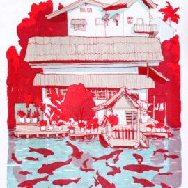 Eleanor Doughty Print, Risograph Brooklyn
