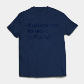 Dark Blue i-765 Shirt