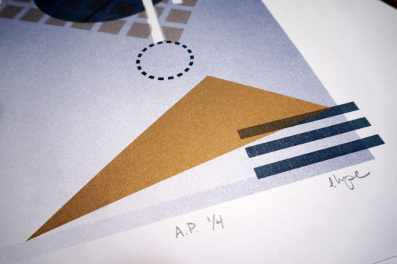 Turntable Risograph by Elyse Barton - Detail image