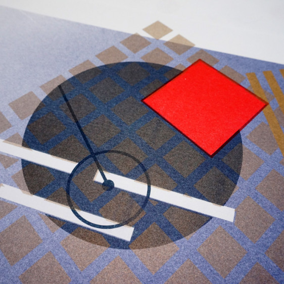 Turntable Risograph by Elyse Barton