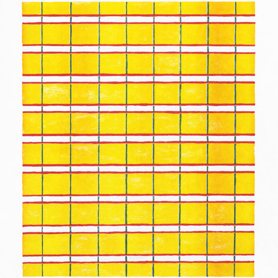 grids by John Richey, Risograph Brooklyn
