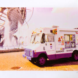 Ice Cream Truck at Flushing Meadows Park, Queens