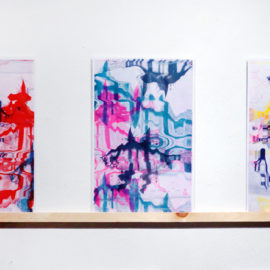 Anthropocene Derrick Schultz Triptych