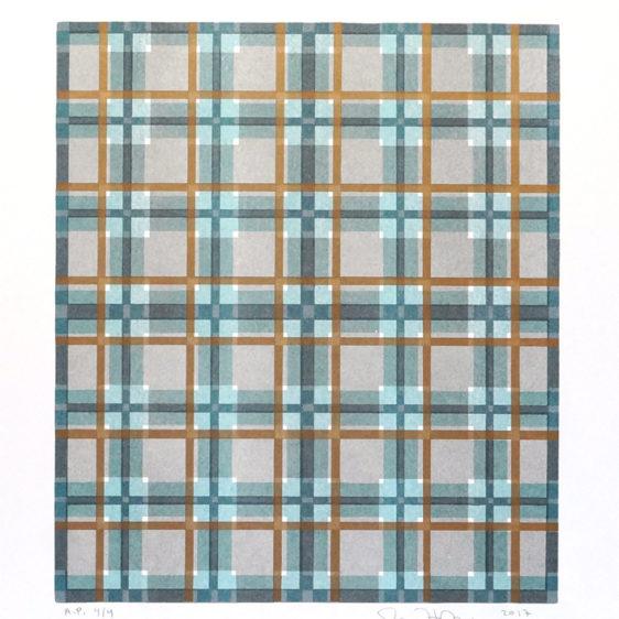 John Richey Risograph grid prints