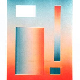 Cem Kocyildirim Gradient Composition Risograph