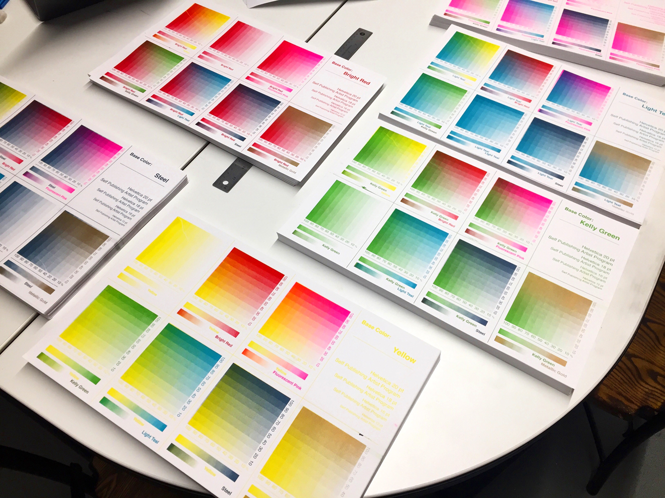 Risograph Color Chart - Gift for Artists